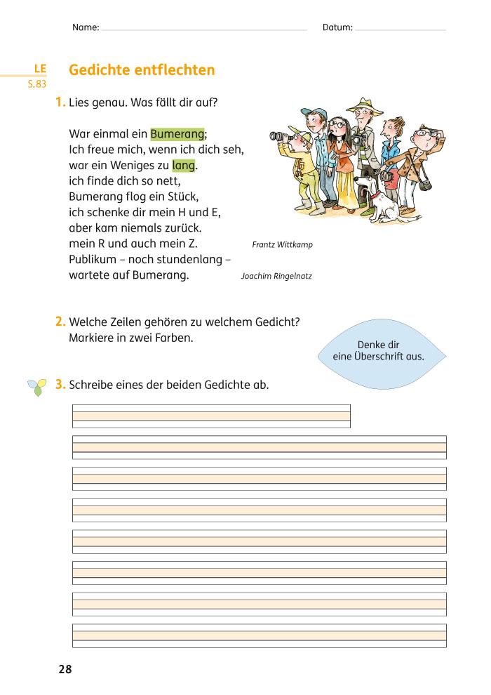 Ernst Klett Verlag Zebra Ausgabe Ab 2011 Lehrwerk Einstieg
